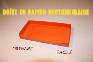 Comment Faire Une Boite En Origami : comment faire une bo te en papier rectangulaire origami facile tuto enfants activit s ~ Dallasstarsshop.com Idées de Décoration