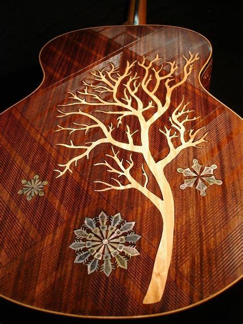 best about amazing guitar inlays chrome finish custom acoustic guitars