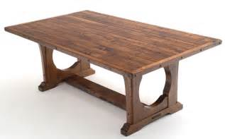 table design craftsman table bungalow dining table arts craft rustic