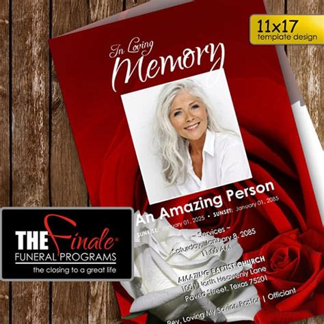 sample funeral programs templates sample templates