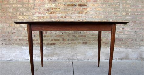 American Of Martinsville Dining Room Table by Circa Midcentury American Of Martinsville Dining Table Ii