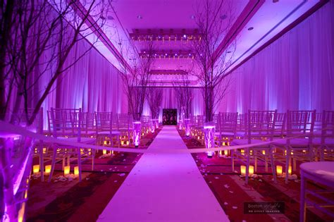 Ceiling Draping Techniques by Boston Wedding Uplighting Boston Uplights Boston And