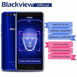 Blackview P6000 Face Recognition Smartphone 5 5 U0026quot Fhd Full