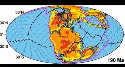 Earth Plate Tectonic Pangaea Years Changed Tectonics