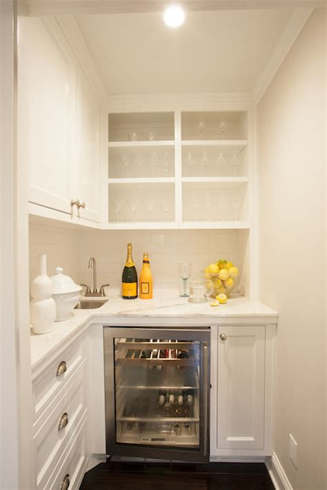 tiny butlers pantry transitional kitchen