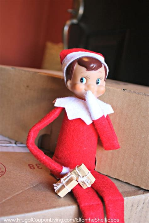 Elf On The Shelf Ideas  Welcome Back Package For Elf's