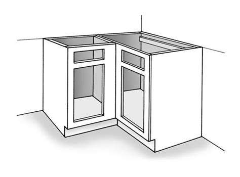 how to install base cabinets how to install the corner cabinet dummies