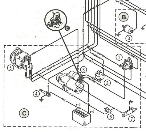 Mercruiser Starter Solenoid Wiring Diagram by Mercruiser 3 0l Alternator Question Page 1 Iboats