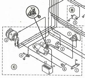 3 Wire Alternator Wiring Diagram 3 7 Merc
