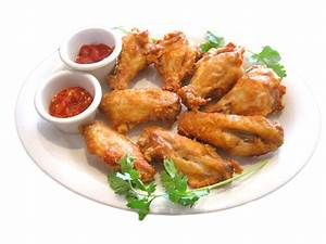 Fried Chicken Wings Clipart