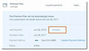 Saving invoices for wix services help center wix wix for Wix invoices app