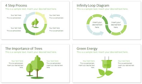 sustainability powerpoint template presentationdeckcom