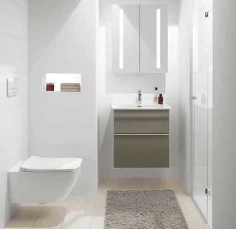 kleines bad mit dusche rauml 246 sungen villeroy boch