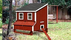 Chicken Coop Plans And Hen House Style Design Color Of