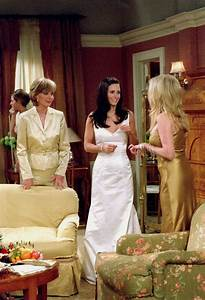 whimsybride look a likes for less monica gellar With friends wedding dresses