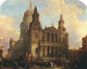 """""""St. Paul's Cathedral, London, with the Lord Mayor's ..."""