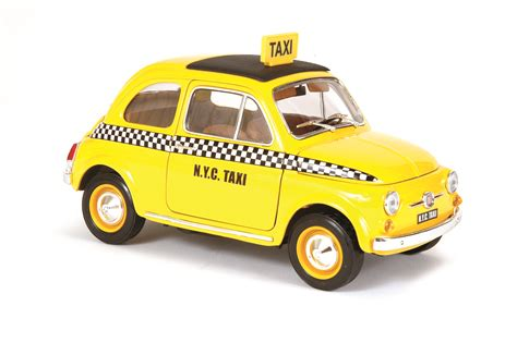 Fiat Stands For by Bburago Fiat 500 Taxi Die Cast X