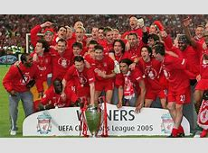 Liverpool's 2007 Champions League winners tracked down