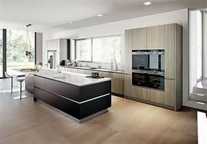 Küche Auf Vinylboden Stellen : grifflose k che inox schwarz matt lackiert forest line pastel fango ~ Markanthonyermac.com Haus und Dekorationen