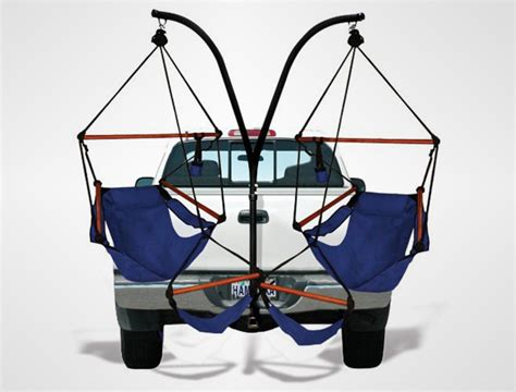 Trailer Hitch Hanging Chairs by Trailer Hitch Stand And Hammock Chair Combo Hispotion