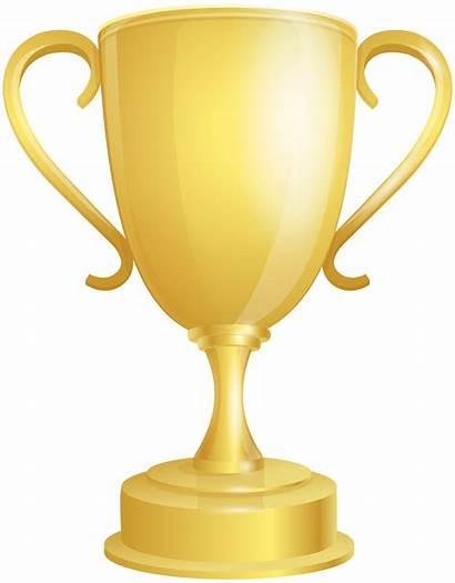 Award Clip Cup Trophy Clipart Golden Transparent