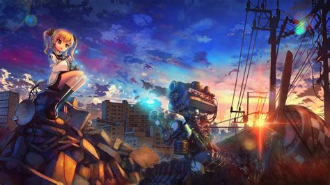 Anime Artwork Wallpaper - anime artwork anime city engines