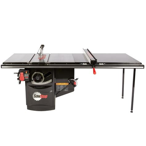 sawstop industrial table saw sawstop industrial cabinet saw 3hp 1 phase 230v 52