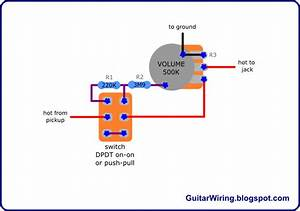 The Guitar Wiring Blog - Diagrams And Tips  Volume Drop Switch