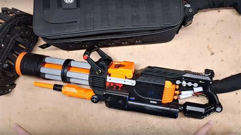 This Diy Nerf Rival Minigun Spits Out Foam Balls At 20