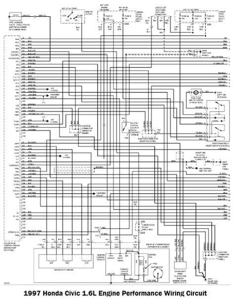 honda prelude engine wiring diagram honda civic engine