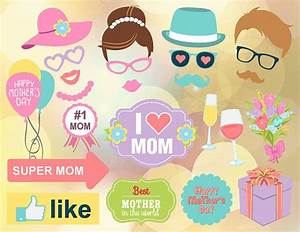 Instant Download Mother's Day Photo Booth Props Printable ...