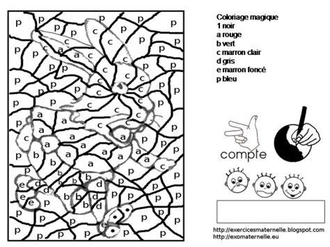 coloriage magique lettres pour enfant dessin gratuit