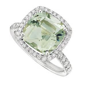 quartz engagement rings style rf708 white gold engagement ring with a cushion cut green quartz center