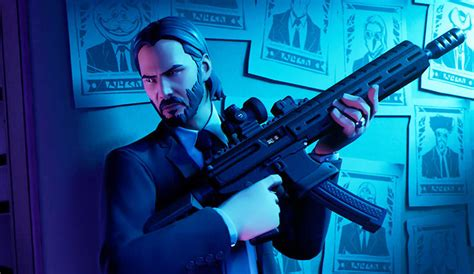 Fortnite Unleashes The Gun Fu With A John Wick Limited