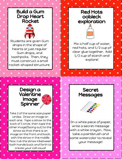 valentine sciencestem challenge task cards