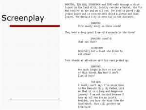 Parts of a Script