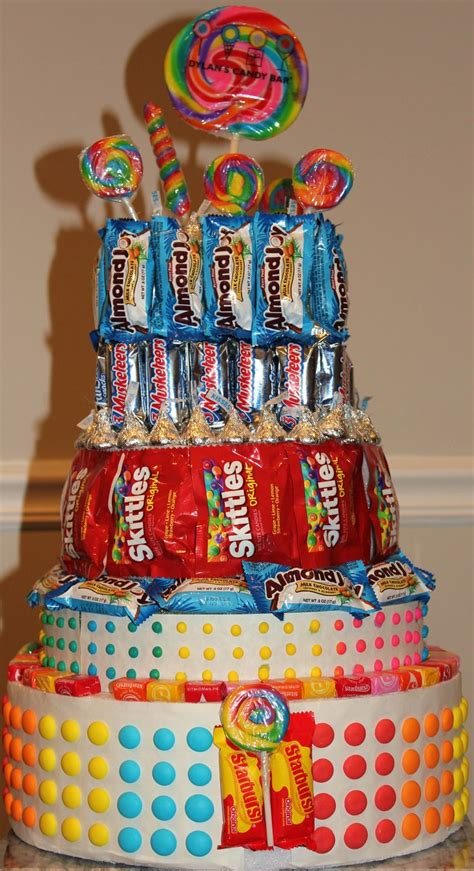 candy cake candy centerpieces  nicole fiss pinterest