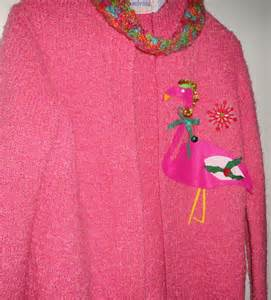 pink ugly christmas sweater party tacky pink by ilpiccologiardino