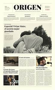 ORIGEN / Periódico - Newspaper by Krysthopher Woods, via ...