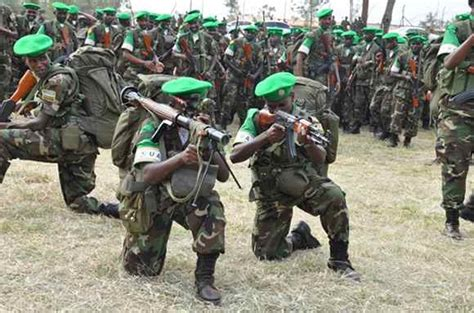 First Batch Of Rdf Peace Keepers Off To Car News Of Rwanda