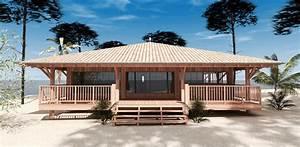 construction d39une cabane bois sur pilotis a sanguinet 40 With construction maison sur pilotis