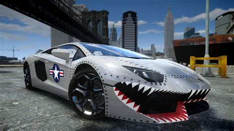 Gta Iv 2012 Lamborghini Aventador Lp700-4 Usaf Crash