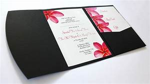 tropical pacific island beach theme wedding invitations With wedding invitation pockets nz
