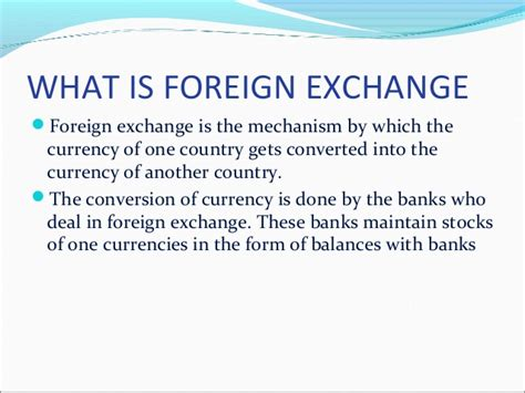 what is currency trading global foreign exchange 1