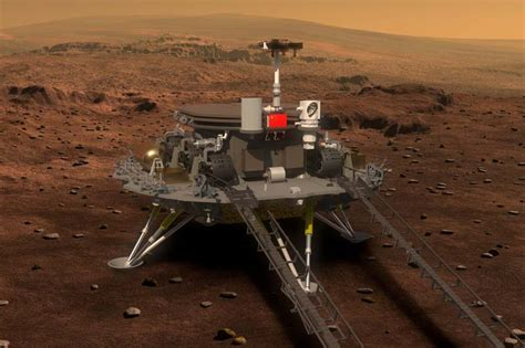 China Shows First Images Of Mars Rover, Aims For 2020