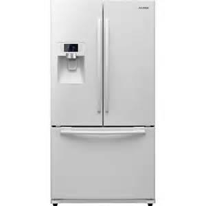 new samsung white counter depth french door refrigerator