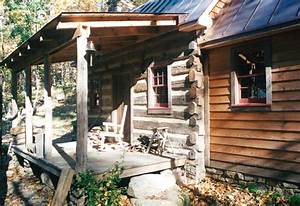 Part Five of... Building a rustic cabin - Handmade Houses ...  Rustic