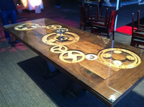 gear table cnc woodworking  cnc projects