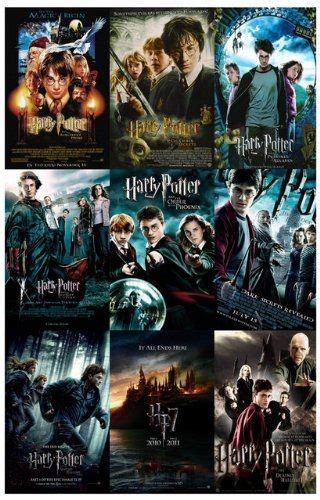 Harry Potter Movie Collage