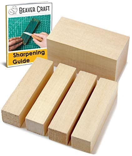 premium basswood wood carving blocks kit whittling